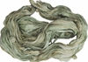 Sari SILK 100g Ribbon Yarn Green Palm Breeze
