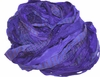 Sari SILK 100g Ribbon Yarn Hot Purple