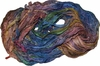 Sari SILK 100g Ribbon Art Yarn Lyric Blue Pink