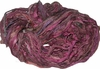 Sari SILK 100g Ribbon Art Yarn Maroon Multi