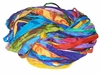 Sari SILK 100g Ribbon Yarn Multi Rainbow