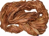 Sari SILK 100g Ribbon Yarn Orange Sherbet