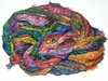 Sari SILK 100g Ribbon Yarn Print Multi