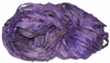 Sari SILK 100g Ribbon Art Yarn Purple