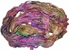 Sari SILK 100g Ribbon Art Yarn Rose Garland