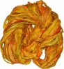 Sari SILK 100g Ribbon Yarn Sunny Gold Orange