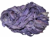 Sari SILK 100g Ribbon Art Yarn Violet