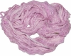 SARI Silk 100g Ribbon Art Yarn Baby Pink