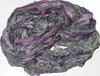 SARI Silk 100g Ribbon Art Yarn Eggplant