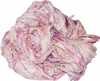 SARI Silk 100g Ribbon Art Yarn Pink
