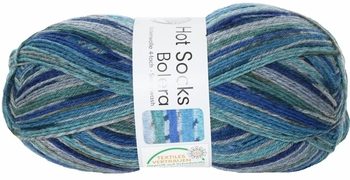 100g GERMAN Self Striping SuperWash SOCK Yarn Bolera Grundl 41