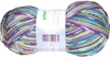 100g GERMAN Silky Self Striping SuperWash SOCK Yarn Rubin Grundl 04