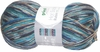 100g GERMAN Silky Self Striping Viscose SuperWash SOCK Yarn Rubin Grundl 06