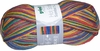 100g GERMAN Silky Self Striping SuperWash SOCK Yarn Samba Grundl 01