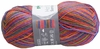 100g GERMAN Silky Self Striping SuperWash SOCK Yarn Samba Grundl 08