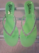 Flip Flops Kiwi (Green) Color