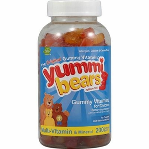 Hero Yummi Bears Multi Vitamin & Mineral (1x200BEARS)