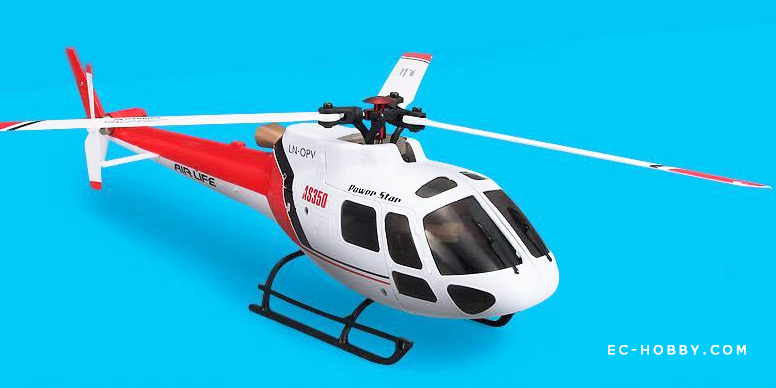 Wltoys V931 As350 Squirrel Scale Model Rc Helicopter 3d