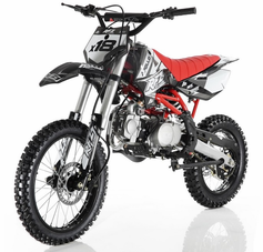 Apollo/Orion Ultra-Elite 125cc Pit / Dirt Motorcycle. -Twin-Spar Tubular Frame (Compare to Honda)