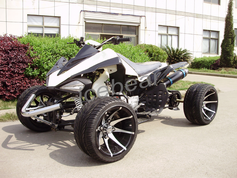 ATV R-12 VIPER Deluxe Japanese Style 125cc Racing Quad with Custom Wheels