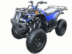 COOLSTER 3125D 125cc ATV - Semi-Auto Transmission - Disc Brakes -  CALIF LEGAL! - Larger-Adult-Size