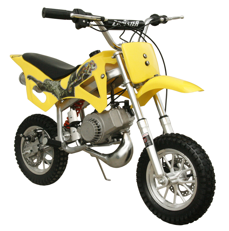 dirt bike mini coolster 49cc stroke qg start bikes yellow fully pull auto moto 50cc dirtbike dirtbikes jet powersports 3d