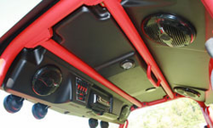 J STRONG EK306 Top w/lights and stereo for TERYX UTV - FREE SHIPPING - Motobuys.com
