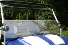 J-STRONG- EK402 / EK404 Folding Windshield for the RangerXP- FREE SHIPPING- Lowest Price Guaranteed at Motobuys.Com