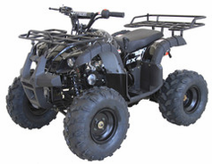 "Kymoto LT Elite Youth Quad   Mid-Size Deluxe Sport / Utility ATV - Fully Automatic - Upgraded Suspension - 19"" Tires - Hydraulic Disc Brakes - Free Shipping"