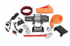 RAIDER 3500 LB ATV WINCH - RAIDER 2012  -  Lowest Price Guaranteed! FREE SHIPPING !