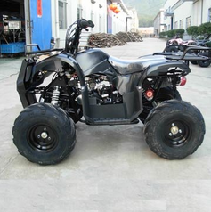 JET MOTO Series Wranger X3 125cc Sport / Utility ATV -With OVER-SIZE Tires - CALIF LEGAL