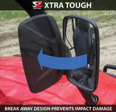 SEIZMIK Break Away Side View Mirrors- Lowest Price Guaranteed at Motobuys.Com