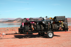 Star 3 ATV - Cargo - UtilityTrailer with Loading Gate Kit - Holds up to 3 Quads - FREE SHIPPING
