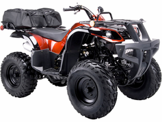 JetMoto Deluxe 150cc Sport/Utility.  Automatic - Calif Legal!  Free Racks - Free Gear Bag.  KartQuest.com