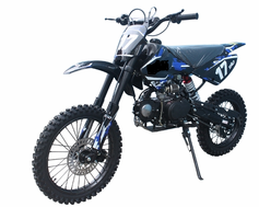 "JetMoto DB-17 Deluxe Dirt / Pit Bike with Extra Large 17"" Wheel - 4-SPEED Transmission - FREE SHIPPING! LOWEST PRICE GUARANTEED!"