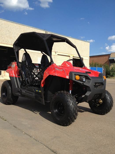 "Trailmaster Challenger 150 Extended Youth/Adult UTV -  Automatic with Reverse, <b><font color=""red""><font size=""4"">Calif Legal </font></font></b>"
