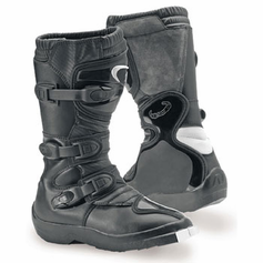 Vega Off-Road Junior Boots Youth Black  - Super Sale - Limited to stock on Hand!
