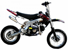 COOLSTER XM Deluxe - 125cc Dirt Bike 4-Speed-Manual