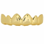 14K Gold Plated Luxury Upper Grillz