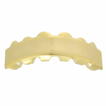 14K Gold Plated Top Grillz Bar