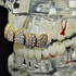 18K Gold Plate CZ Top Grillz