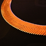 "20"" Herringbone Rose Gold 7mm Chain"