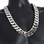 25 mm Silver S. Steel Chain