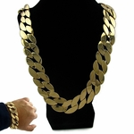 25MM Cuban Chain & 20MM Bracelet Set