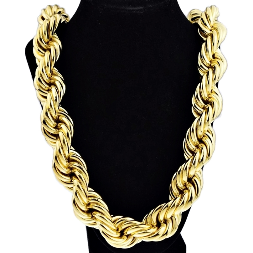 25 mm 36quot gold plated rope chain chains