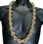 25MM Gold Rope Chain