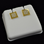 Kite Gold Plated 7MM Earrings