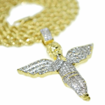 Angel Bling Rope Chain 24""