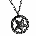 "Baphomet 28"" Chain Necklace"