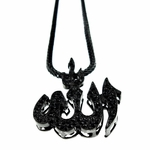 "Black Allah 36"" Franco Chain"
